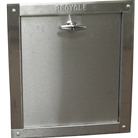 """R"" series 18 inch by 18 inch Bottom hinged chute intake door."
