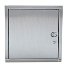 16 inch by 16 inch left side hinged access door.