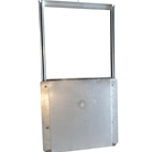 Twenty-four inch Fire Rated Chute Discharge Door