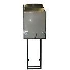 Thirty-six inch chute hopper discharge fits chutes by Wilkinson, Midland, Western, American, Century, US, Valiant and others.
