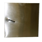 """W"" Series 12 inch by 12 inch Right side hinged chute intake door panel"
