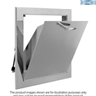 Fourteen inch by fifteen inch bottom hinged chute intake door assembly C series