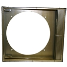Thirty-six inch Fire Rated Trash Chute Discharge Door made of Stainless Steel