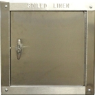 """R"" series 15 inch by 18 inch Right side hinged chute intake door."