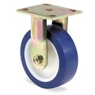 "Fixed caster for replacement on compactor bins for Western Compactor ""W"" Series"
