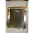 """R"" series 14 inch by 17 inch bottom hinged chute intake door."