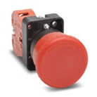 Emergency Stop Button Multiple Control Panels, twenty-two millimeter