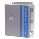 Wireless Waste Edge Fullness Monitor for Compactors