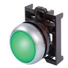 Green LED Electrical Interlock Light and Bezel Only, 24 Volt