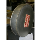 Roof Vent Cap for Eighteen Inch Diameter Chute W Series